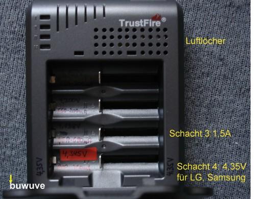 Trustfire TR003P Modi Front